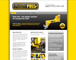 Plant Pull Towbar for JCB's