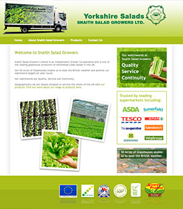 Snaith Salad growers Yorkshire
